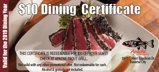 Gift Certificates Traverse City