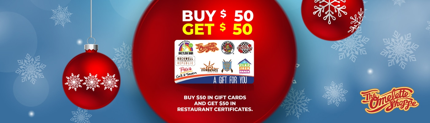 the omelette shoppe gift card promotion